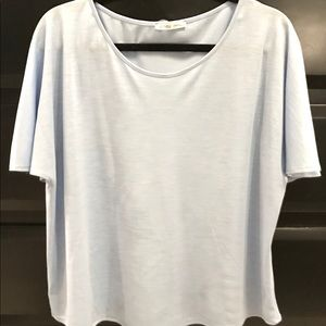 Zara Flutter Sleeve Top